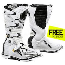 white motocross boots forma dominator comp motocross boots white motocross