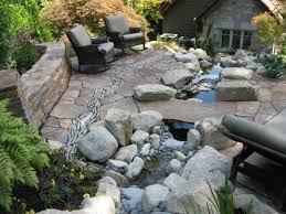 Stone Patio Designs Pictures by Small Mexican Concrete House Before And After U2013 River Stone