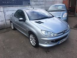 peugeot car garage used peugeot 206 grey for sale motors co uk