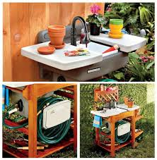 backyard gear outdoor sink an outdoor garden sink is ideal for many yard garden tasks