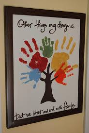 Crafts For Home Decoration 28 Most Fun Hand And Footprint Art Ideas For Home Decor