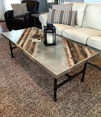 concrete tables for sale concrete coffee table with wood inlay for sale furniture