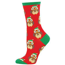 owl christmas christmas owl socks christmas socks with owls what a hoot