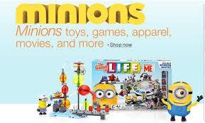 low price minion amazon deals movies games toys u0026 more