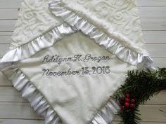 Baptism Blanket Personalized Baptismal Blankets Warm White Baptism Blanket Warm White Baptism