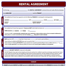 100 one page rental agreement template one page san francisco