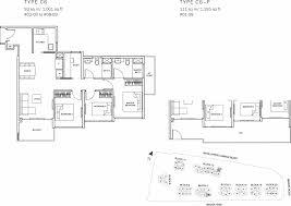 the glades condo floor plan u2013 3br suite u2013 c6 u2013 93 sqm 1001 sqft