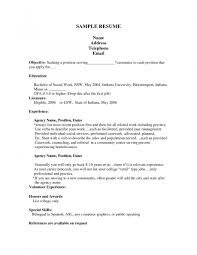 Samples Of Resumes For Jobs by Resume Sample Job Application Example Essay Job Application
