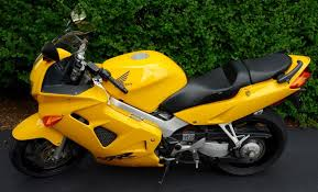 2000 honda vfr yellow motorcycles for sale