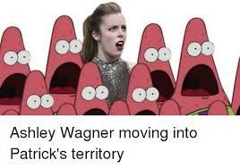 Ashley Wagner Meme - ashley wagner moving into patrick s territory meme on me me