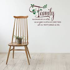 family like branches wall sticker quote snuggledust studios wall sticker decal