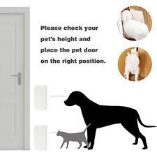 Interior Pet Door For Cats Snagshout Haon Pet Door For Doggie And Cat Interior Door