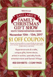 buy tickets for the salt lake family gift show