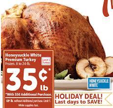 thanksgiving turkey on sale just 35 per pound at safeway