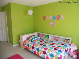 remodelaholic bright and fun little girls bedroom update