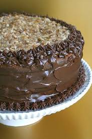 the best chocolate cake with chocolate mousse filling and warm