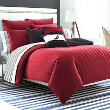 Twin Plaid Comforter Red Quilt Twin Quilts Red Blue Twin Bedding Red Plaid Twin
