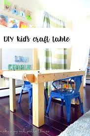 kids craft table with storage table desk for kids art tables for children best kids craft tables