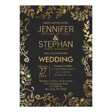black and gold wedding invitations yellow wedding invitations 9400 yellow wedding announcements