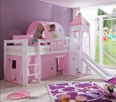 rutsche kinderzimmer coole hochbett mit rutsche und schreibtisch holz multifunktional