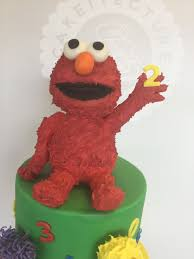 elmo cake topper cake toppers and figures cakeitecture bakery
