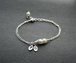 Two Peas In A Pod Charm Two Peas In A Pod Bracelet 2 Pearl Mothers Jewelry Swarovski Pearl