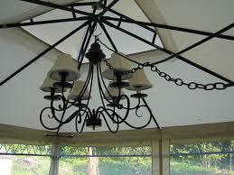 outdoor gazebo chandelier lighting improbable outdoor gazebo chandelier lighting garden landscape