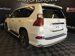 lexus white gx new 2018 lexus gx 4 door sport utility in edmonton ab l13843