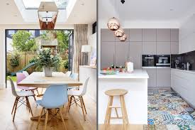 vintage modern kitchens a modern kitchen decor with copper lamps and nordic details
