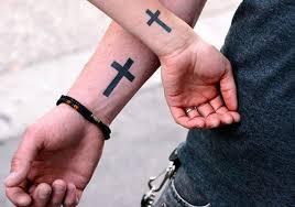 26 lovely small cross tattoos creativefan
