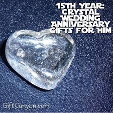 15th anniversary gifts 15th year wedding anniversary gifts for him gift