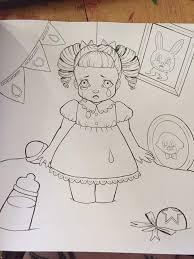 crybaby coloring book crybabies amino