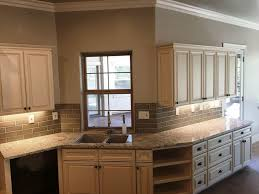 White Painted Cabinets With Glaze by Used White Glazed Kitchen Cabinets U2014 The Clayton Design Best