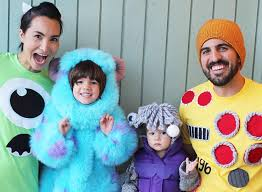 Halloween Costumes Monsters 31 Family Halloween Costumes Ideas 2017
