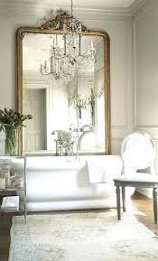 Ornate Bathroom Mirror Oval White Mirror Bathroom Mirror A Cottage White Ornate Oval Oval