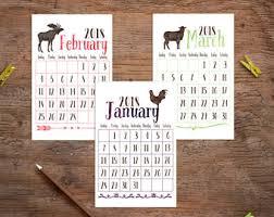 cubicle calendar etsy