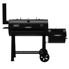 Backyard Grill Gas Charcoal Combination Grill by Dyna Glo Signature Series Heavy Duty Barrel Charcoal Grill And