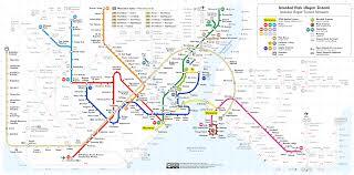 Metro Transit Map by