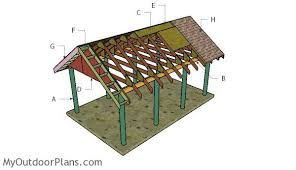 Carport With Storage Plans Carport Myoutdoorplans Free Woodworking Plans And Projects