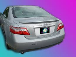 2007 toyota camry spoiler toyota camry painted rear spoiler wing fits 2007 2011 models