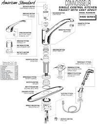 kohler faucet replacement parts single handle kitchen faucet