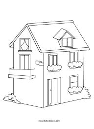 casa disegno casa disegno da colorare per bambini tuttodisegni