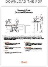 Ergonomic Standing Desk Setup An Ergonomic Setup Guide Sit To Stand Workstation Workplace