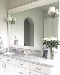 Trim For Bathroom Mirror by Classic Style Home Diy Bathroom Mirror Trim