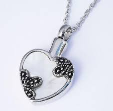 necklace urns for ashes cremation ashes jewellery keepsake necklace urn floral heart