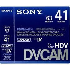 hdv cassette sony cassette dvcam pdvm 41n 3 lot de 10