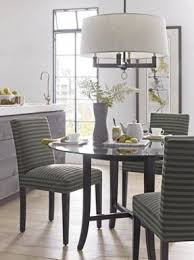 Dining Room Sets With Fabric Chairs by 42 Round Glass Top Dining Table Sets Foter