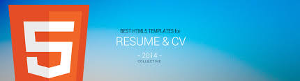 best responsive html5 resume and cv templates in 2014 responsive