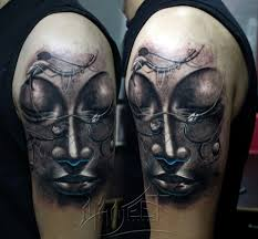 half sleeve arm tattoos buddha arm tattoo full and half sleeve tattoos pinterest arm
