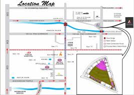 Greater Noida Metro Map by Aaradhyam New Project Greater Noida West 8010039000